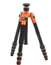 Aluminium Camera Tripod LVG A-115 Orange with NB535 Ball Head | http://www.rugift.com/content/aluminium-camera-tripod-lvg-115-orange.htm
