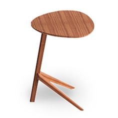 Sustainable Bamboo Side Table