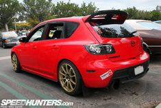 The MazdaSpeed3 is known as one of the best bang for the buck performance cars of the last few years, but you don't see a whole lot of modified ones on the street. When I saw this one at Cars & Coffee the other day, I knew a quick spotlight would be in order. Without …