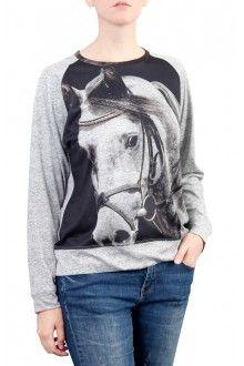 Comprar blusa-raglan-feminina-inverno-estampa-cavalo-tordilho-usenatureza