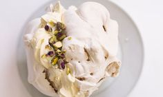 Crunch time: Nigel Slater's classic sugary meringue. Photograph: Jonathan Lovekin for the Observer