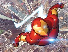 Brian Bendis et David Marquez relancent Invincible Iron Man | COMICSBLOG.fr
