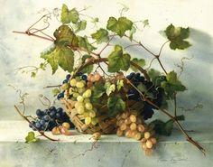 by Elena Bazanova. Grapes.