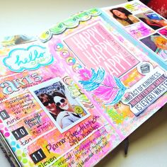 Planner Pages: Art to the 5th Style Workshop results — Secret Lake Diaries