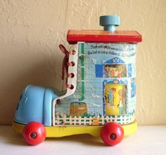 Vintage Fisher Price Little People Boot House by VintageNChic, $19.50