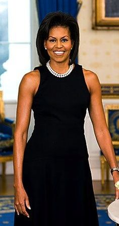 Michelle Obama's official White House portrait