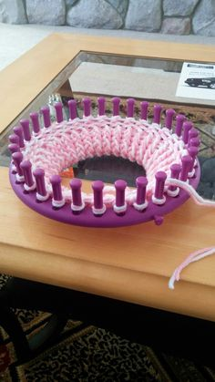 Corky Crafts & Knit Hats: Loom Knitting a Dog Sweater