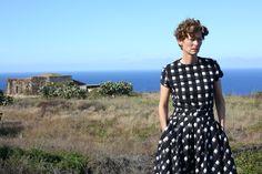 Tilda Swinton robe Dior en soie imprimée