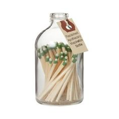 Match Jar Another easy DIY in the making…. (via Terrain.com)