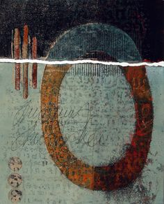 """Hope for the Broken, by Anne Moore, monotype, 12.5""""X 10"""