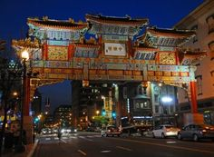 Chinatown- The Friendship Arch a traditional Chinese gate welcomes you to   a historical neighborhood. There are loads of wonderful restaurants.   Try a walking tour of the area.