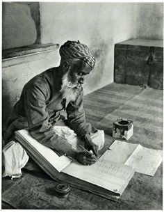 Portrait of a Street Banker in Udaipur,1928