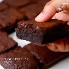 brownie recipes with cocoa powder . brownie recipes without chocolate chips . Best Brownie Recipe, Brownie Recipes, Cookie Recipes, Snack Recipes, Dessert Recipes, Snacks, Easy Baking Recipes, Delicious Desserts, Healthy Desserts