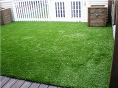 Synlawn deck and patio turf