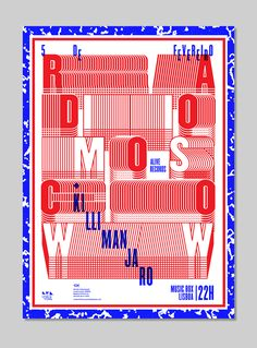 Radio Moscow Poster on Behance