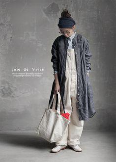 【楽天市場】【送料無料】Joie de Vivreリネンデニムピンタックロングシャツワンピース:BerryStyleベリースタイル
