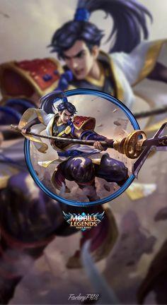 Wallpaper Phone Zilong Eastern Warrior by FachriFHR