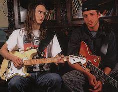 Mike McCready & Stone Gossard - early Pearl Jam