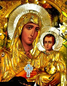 THEOTOKOS ,JERUSALEM Religious Images, Religious Art, Hail Holy Queen, Liturgical Seasons, The Great Doctor, Images Of Mary, Queen Of Heaven, Mama Mary, Blessed Mother Mary