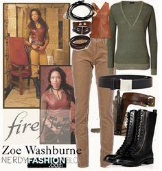Zoe Washburne | Firefly by chelsealauren10