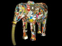 Leo Sewell's junk art masterpieces - Lost At E Minor: For creative people