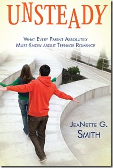 Love this Book! How to keep our Kids chaste.  Unsteady: What every parent absolutely must know about teenage romance by JeaNette G. Smith