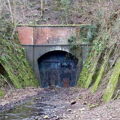 Images, photos and postcards of Combe Down - Prior to Now on Combe Down Derelict Places, Derelict Buildings, Abandoned Churches, Abandoned Train, Abandoned Places, Train Tunnel, Bath Somerset, Old Train Station, Disused Stations