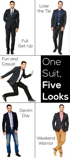 One Suit, Five Looks | eHow