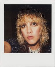 <strong>THE FAME GAME</strong> A personal Polaroid of Nicks in the early 1980s, when she was beginning her solo career.