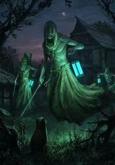 witcher ghost at DuckDuckGo Fantasy Kunst, Dark Fantasy Art, Fantasy Artwork, Dark Art, The Witcher Wild Hunt, The Witcher 3, Fantasy Monster, Monster Art, Warhammer Fantasy