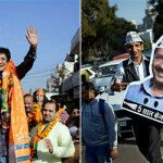 One day to go for Delhi elections, AAP takes lead over BJP in all surveys