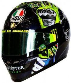 Valentino Rossi's 'Hands' helmet from Mugello 2009 - http://replicaracehelmets.com/product/agv-gp-tech-valentino-rossi-hands-mugello-2009-limited-edition-helmet/