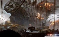 New Godzilla 2014 Movie Still