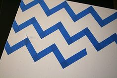 another way to layout chevron pattern