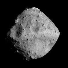 Asteroid Ryugu photographed by the ONC-T on June 24, 2018 at around 00:01 JST.  Credit : JAXA, University of Tokyo, Kochi University, Rikkyo University, Nagoya University, Chiba Institute of Technology, Meiji University, Aizu University, AIST