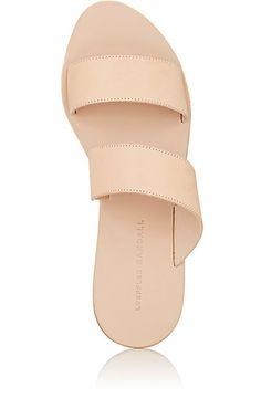 6f9377c31e8e Loeffler Randall Clem Leather Slide Sandals - Sandals - 504972679 Nyc  Fashion