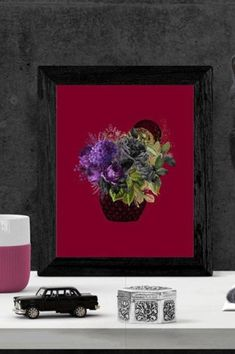 This beautiful floral arrangement hints at the dark environment in which it blooms. The colour leeching out, what caused this? Who caused this?This piece would be a strong focal point for your space in any size. Dark Home Decor, Goth Home Decor, Victorian Style Clothing, Dramatic Arts, American Horror Story, Pastel Goth, Bold Colors, Printable Art, Floral Arrangements