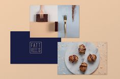 New Identity for Fatties Bakery by Design Agency Dot Dash | Identity, Branding, Stationery, Packaging