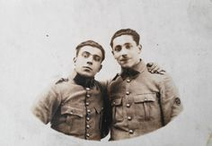 WW-I-France-Real-Photo-Postcard-A-Mechanic-in-a-French-Artillery-Regiment