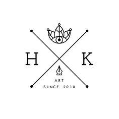 X LOGOS Your whimsical artwork is not hardcore. Hipster Design, Hipster Logo, Modern Hipster, Typography Logo, Logo Branding, Branding Design, Brand Identity, Graphic Design Trends, Graphic Design Inspiration