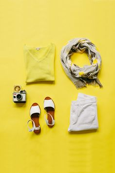 Celebrate spring weather by wearing vibrant colors like yellow. Pair a bright top with white denim and sandals for a relaxed look with a dash of color. Shop all new women's arrivals from Gap.