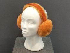 SheepSkin Earmuff Orange