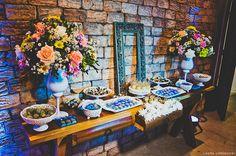 Mesa de doces super romântica para mini wedding. Miniwedding. miniwedding.