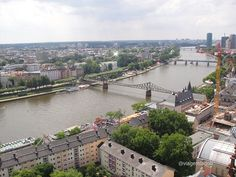 Frankfurt Cathedral - view from the tower