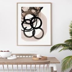 Strokes 4 | Neutral & Black Circle Abstract by Menega Sabidussi. Acrylic and watercolor circles and shapes on textured paper. Black, white and neutral aesthetic for modern interior styles. #artprints #wallart #scandi #scandinavian #nordic Art Prints, Wall Art, Abstract Art, Paper Texture, Art, Pictures, Watercolor Circles, Abstract, Abstract Print