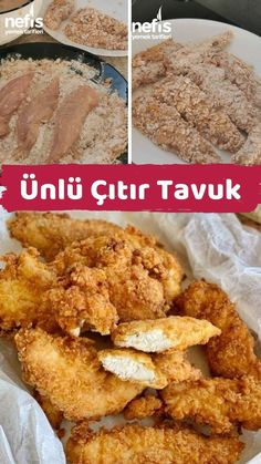Ünlü Çıtır Tavuk – Nefis Yemek Tarifleri How to make famous Crispy Chicken Recipe? Illustrated explanation of Famous Crispy Chicken Recipe in the book of people and photographs of those who try here. Fun Easy Recipes, Dinner Recipes, Easy Meals, Delicious Recipes, Crispy Chicken Recipes, Dinner For 2, Wie Macht Man, Iftar, Food Design