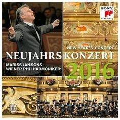 Mariss Jansons/Wiener Philharmoniker: New Years Concert 2016 (Blu-ray Disc, for sale online Vienna New Year Concert, Le Prestige, Wiener Philharmoniker, Vienna Philharmonic, Herbert Von Karajan, Le Concert, Version Francaise, I Love Music, Xmas