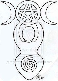 Spiral Goddess Tattoo Design By Roguewyndwalker On DeviantART