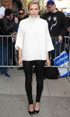 Elizabeth Olsen Proves Monochrome Is Anything But Boring