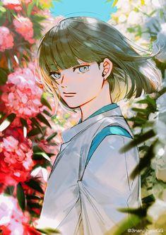 Studio Ghibli Art, Studio Ghibli Movies, Howl Movie, Studio Ghibli Characters, Chihiro Y Haku, Studio Ghibli Spirited Away, Hayao Miyazaki, Pretty Drawings, In And Out Movie
